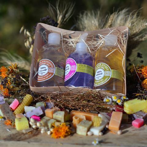 Подарочный набор N1. Натуральная органическая косметика ЯКА. Купить, гель в магазине