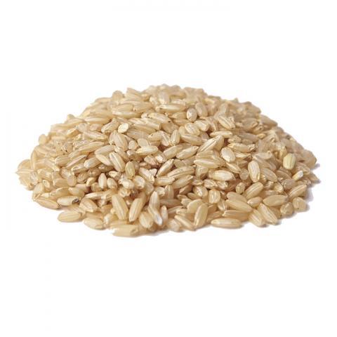 Купить рис бурый не шлифованный шелушённый, органический.  Натуральные продукты магазин
